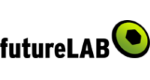 Futurlab Logo mit einem Link auf ihre Website.
