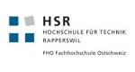 HS Rapperswil Logo mit einem Link auf ihre Website.