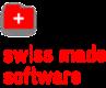 Swiss Made Software Logo mit einem Link auf ihre Website.
